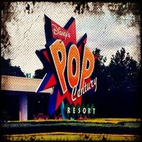 Photo taken at Disney's Pop Century Resort by Mindy M. on 9/29/2012