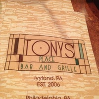 Photo taken at Tony's Place Bar and Grille by Helen D. on 9/10/2013