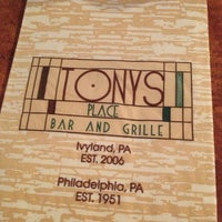 Photo taken at Tony's Place Bar and Grille by Helen D. on 1/10/2013