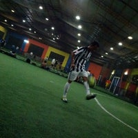 Photo taken at Gading Futsal by Ozzy H. on 10/5/2012