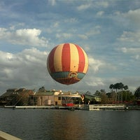 Photo taken at Disney Springs The Landing by Kelly P. on 2/12/2013