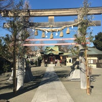 Photo taken at 子安八幡神社 by Rinta A. on 1/6/2017
