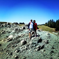 Photo taken at Mt. Tam West Peak by Cecil P. on 3/24/2014