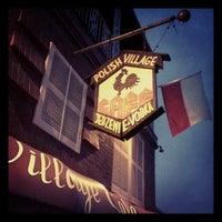 Photo taken at Polish Village Cafe by David W. on 4/12/2013