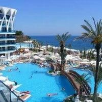 Photo taken at Granada Luxury Resort & SPA by Pınar G. on 7/3/2016