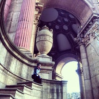 Photo taken at Palace of Fine Arts by Nick S. on 1/10/2013
