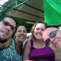 Photo taken at Feira Livre - Bairro Santa Mônica by Lucas G. on 4/19/2014