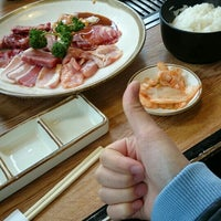 Photo taken at 焼肉ウエスト 飯塚店 by もにか ち. on 4/13/2015