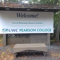 Photo taken at Pearson College by Manolo E. on 8/29/2014