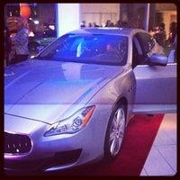 Das Foto wurde bei Maserati of Manhattan von Michael G. am 4/3/2013 aufgenommen