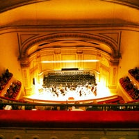 Photo taken at Carnegie Hall by Kristin Y. on 12/19/2012