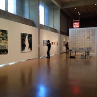 Photo taken at Zilkha Gallery by Son T. on 11/3/2013