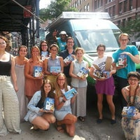 Photo taken at Warby Parker - Puck Store by Ben & Jerry's Truck East on 7/9/2013