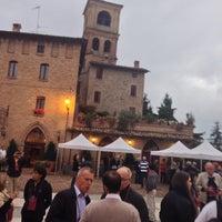 Photo taken at Castelvetro di Modena by Bruce K. on 9/30/2013