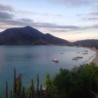 Photo taken at Playa La Galera by Salvador S. on 10/10/2014
