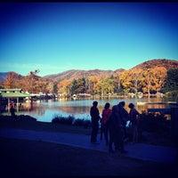 Photo taken at Lake Eden by Nathan S. on 10/21/2012