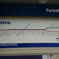 Photo taken at MetroLink - Forest Park Station by Krista W. on 7/10/2013