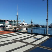Photo taken at Wynyard Quarter by Kieran B. on 12/31/2012