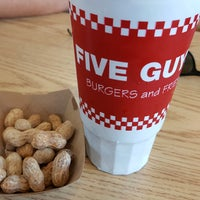 Photo taken at Five Guys by Eric M. on 8/1/2016
