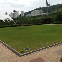 Photo taken at 부산 아시아드 보조구장 by 슬프도록 아름다운 자유로운 영혼 경. on 6/9/2013