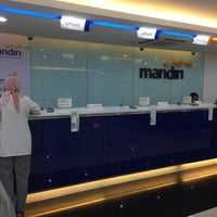 Photo taken at Bank Mandiri Pondok Indah Plaza by Vaji N. on 11/3/2016