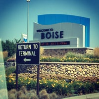 Photo taken at Boise Airport (BOI) by Eric Sean on 8/16/2013