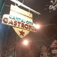 Photo taken at Capital City Gastropub by Rick M. on 1/3/2014