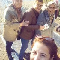 Photo taken at Rıhtım Beach by Çiğdem P. on 11/13/2016