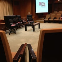 Photo taken at IESE Business School by Juanen F. on 5/21/2013