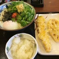 Photo taken at 丸亀製麺 熊本佐土原店 by Takaya N. on 2/18/2014