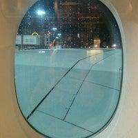 Photo taken at Lufthansa Flight LH 462 by Dylan C. on 1/10/2016