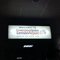 Photo taken at Liverpool John Lennon Airport (LPL) by Khalidah N. on 9/22/2012