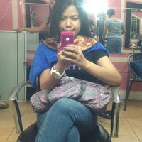 Photo taken at Aces Salon & Skin Care by Clarizza M. on 1/30/2014