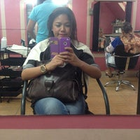 Photo taken at Aces Salon & Skin Care by Clarizza M. on 6/9/2014