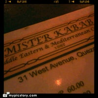 Photo taken at Mister Kabab by Dash C. on 11/10/2012