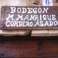 Photo taken at El Bodegon de Manrique by Dino C. on 3/17/2013