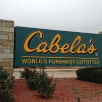 Photo taken at Cabela's by Joe D. on 12/14/2012