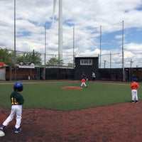 Photo taken at The Yard @ Cal Ripken Baseball Field by Dennis Y. on 5/18/2014