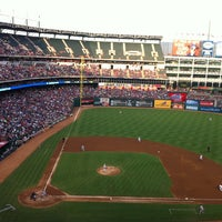 Photo taken at Globe Life Park in Arlington by Gary B. on 7/25/2013