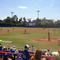 Photo taken at McKethan Stadium at Perry Field by Drew H. on 3/30/2013