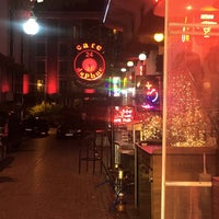 Photo taken at zurich cafe bar by Berat Ü. on 1/27/2018
