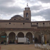 Photo taken at Plaça Farners by Pepe M. on 2/8/2014