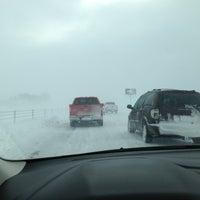 Photo taken at I-35 by Cara B. on 12/20/2012