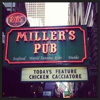 Photo taken at Miller's Pub by Dan H. on 6/7/2013