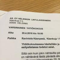 Photo taken at Ravintola Käenpesä by Oula L. on 4/20/2016
