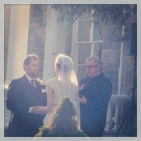 Photo taken at Brecknock Hall by Casey on 8/17/2013