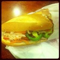 Photo taken at Paris Sandwich by R K. on 10/12/2012