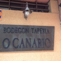 Photo taken at Bodegón O Canario by Hugh S. on 2/18/2016