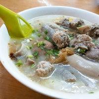 Song Hin Pork Porridge Open Air Market