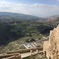 Photo taken at Karak Castle قلعة الكرك by Kata V. on 3/16/2017